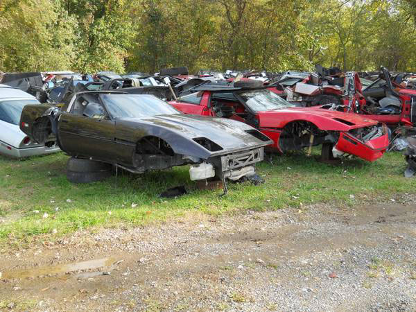 corvette salvage yard for sale in ohio corvette sales news lifestyle. Black Bedroom Furniture Sets. Home Design Ideas