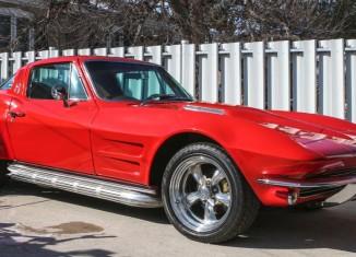Restored 1964 Corvette Has a Rock N Roll Past