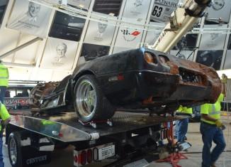 [VIDEO] Corvette Museum Retrieves the Corvette ZR-1 Spyder from the Sinkhole