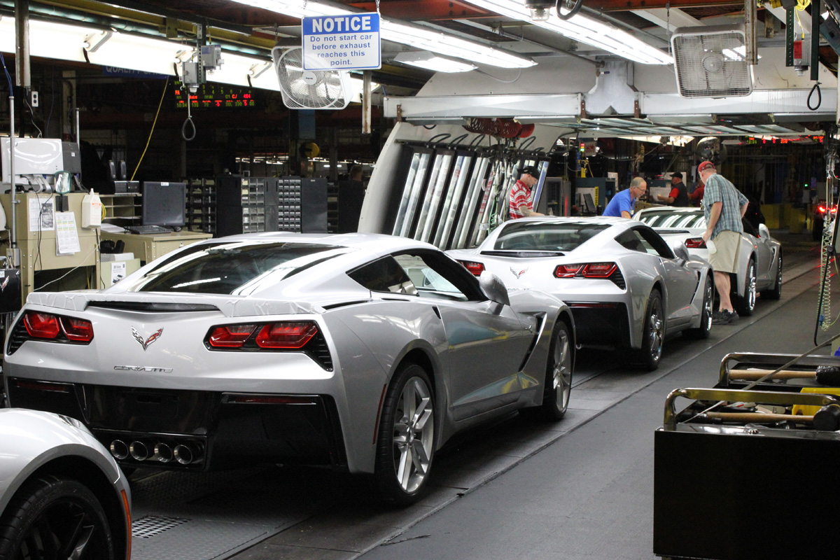 Corvette Plant's UAW Members Approve Strike Authorization