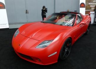 [VIDEO] Corvette-based 2014 Soleil Anadi at the New York Auto Show