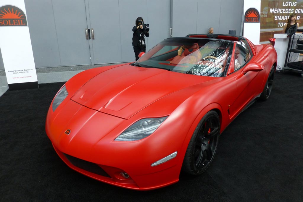 [VIDEO] Corvette-based 2014 Soleil Anadi at the New York Auto Show