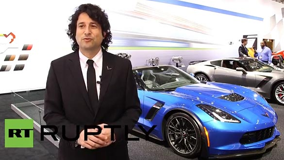 [VIDEO] C7 Corvette Stingray Goes on Sale in Russia