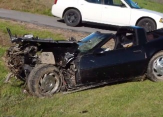 [ACCIDENT] DUI Corvette Driver Faces Charges After Crash in Kentucky