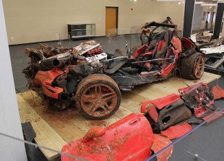 Corvette Museum May Leave Some of the Sinkhole Corvettes As Is