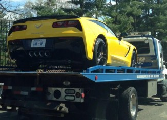Is This Vice President Joe Biden's New Corvette Stingray?