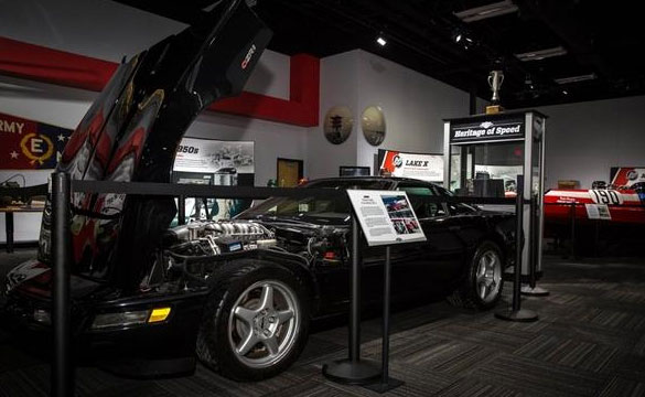 Corvette ZR-1 On Display at Mercury Marine Museum