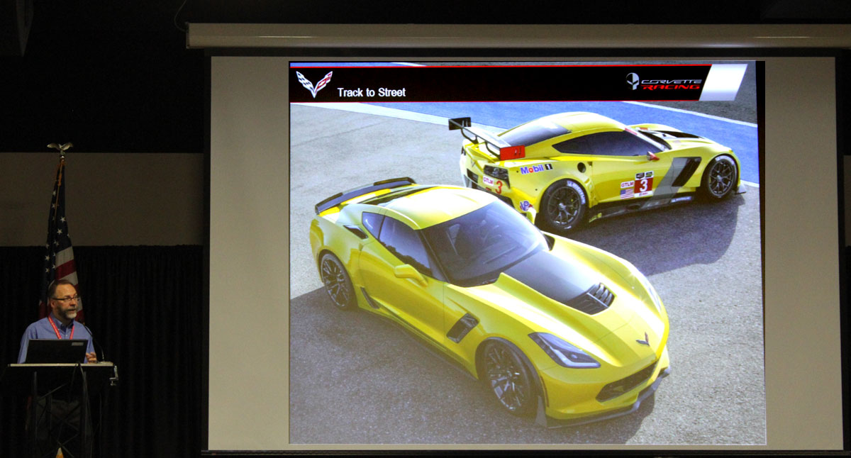 [VIDEO] The Corvette Z06 and C7.R Design Seminar from the 2014 NCM Bash