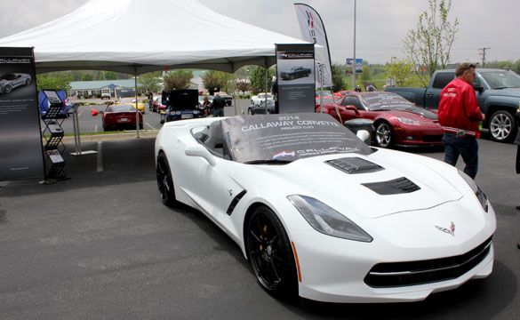 [VIDEO] Callaway Debuts C7 Callaway Corvette at the Corvette Museum's Bash