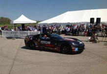 Quadriplegic Race Car Driver Returns to the Track in a Semi-Autonomous Corvette Stingray