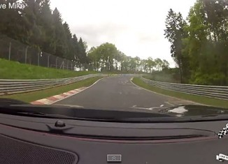 [VIDEO] 2014 Corvette Stingray Tracks the Nurburgring