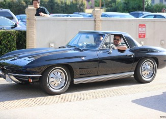 [PICS] Bruce Springsteen's Little Black Corvette