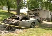 Arsonist Torches a C5 Corvette in Tennessee