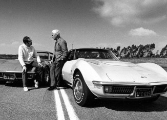 [PIC] Throwback Thursday: Zora with a Couple of 1971 Corvettes