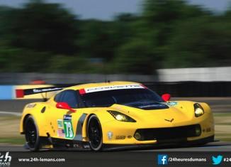Corvette Racing at Le Mans: First Laps at Le Mans for Corvette C7.R