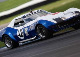 Al Unser Jr., Peter Klutt and a L88 Corvette Win the Legends Pro-Am at Indy