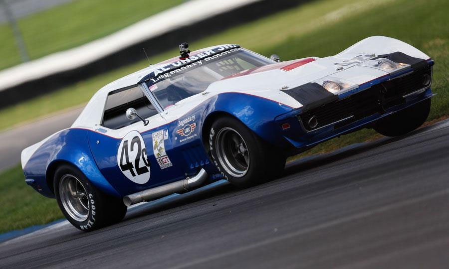 Al Unser Jr., Peter Klutt and a L88 Corvette Win the Legends Pro-Am at Indy