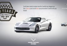 Interactive Timeline Features Seven Generations of Corvettes