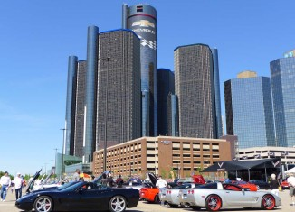 [PICS] Corvettes in the D at GM's Renaissance Center