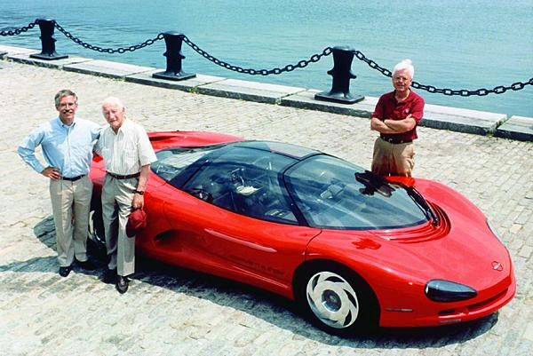 [PIC] Throwback Thursday: The First Three Chief Engineers of Corvette