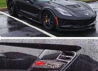 [PIC] A Black 2015 Corvette Z06 in the Wet!