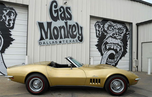 Corvettes on eBay: 1969 Corvette Survivor from the Gas Monkey Garage