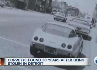 1979 Corvette Stolen 33 Years Ago Has Been Found