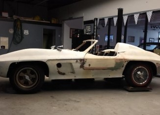 Corvettes on eBay: 1962 Corvette with Rare Fiberfab Centurion Body