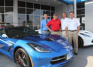 [VIDEO] Criswell Corvette's Mike Furman Takes Delivery of His 2014 Corvette Stingray