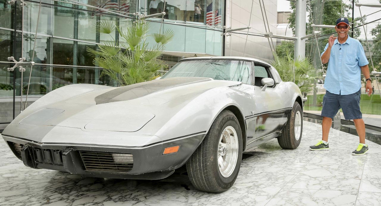 Chevrolet Reunites Detroit Man with His Stolen 1979 Corvette - Updated w/ VIDEO