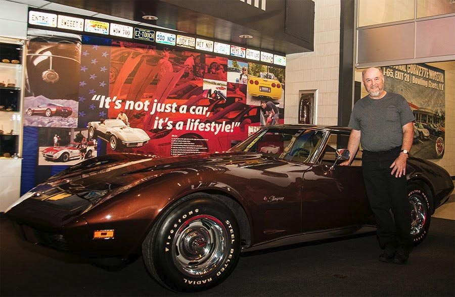 Massachusetts Man Donates 1974 Corvette He's Owned Since New to the Corvett