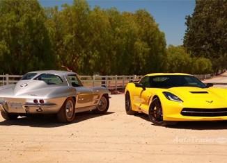 [VIDEO] New vs Classic - C7 Corvette Stingray Compared to 1963 Corvette Sting Ray