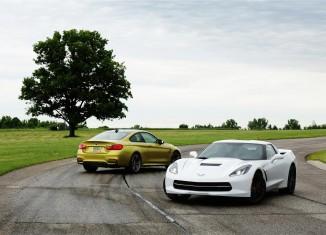 [VIDEO] Automobile Magazine Tests the BMW M4 vs the 2014 Corvette Stingray