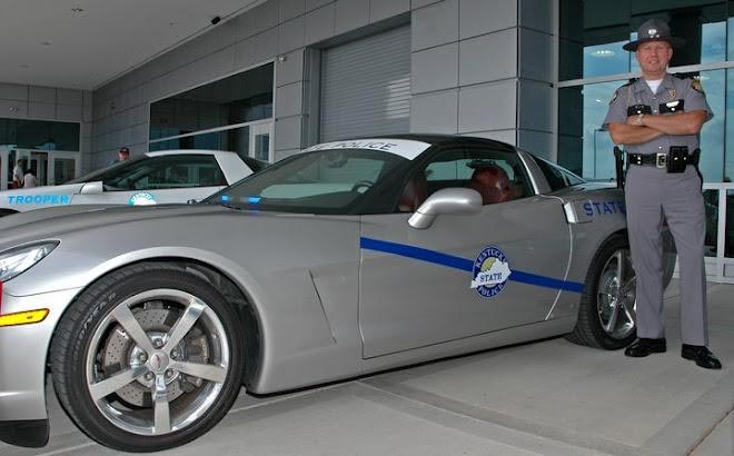 Corvette Museum Wants to Turn Your C7 Corvette Stingray into a Police Car for the 20th Anniversary Caravan