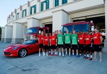 [PICS] Manchester United FC Players Cruise Beverly Hills in Chevy Vehicles