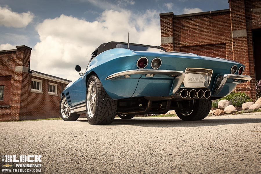 Borla's Eight-Week 1966 Corvette Build Featured on The BLOCK