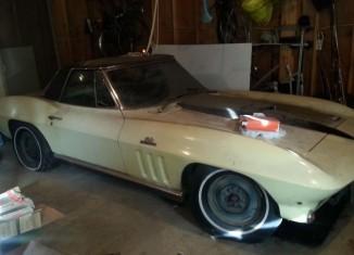 Corvettes on eBay: A One-Owner 1966 Corvette Barn Find