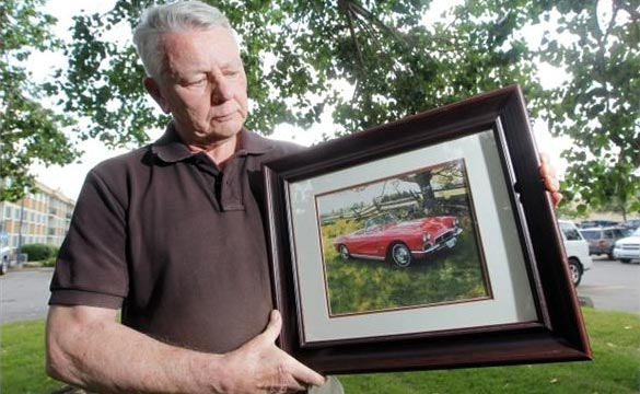 Calgary Police Find Betsy, the Stolen 1962 Corvette