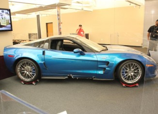 Corvette Museum's Blue Devil Corvette ZR1 to be Restored by GM in September