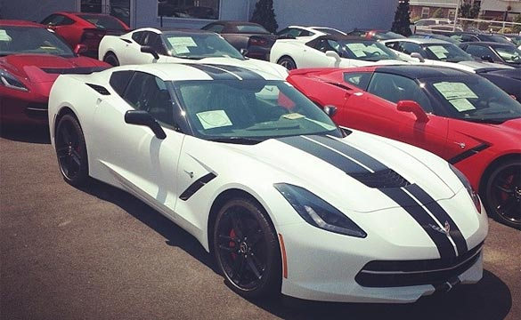 July 2014 Corvette Sales