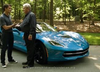 [VIDEO] Jeff Gordon and Former Chevrolet GM Jim Perkins Discuss the C7 Corvette Stingray