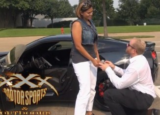 http://www.corvetteblogger.com/2014/08/07/video-ungrateful-girlfriend-gets-a-marriage-proposal-in-her-corvette-stingray/