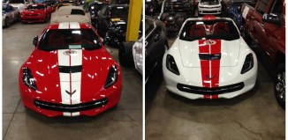 First Look: The Corvette Museum's 20th Anniversary Corvette Raffle Cars