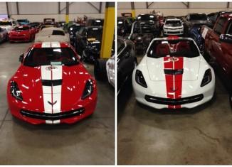 First Look: The Corvette Museum's 20th Anniversary Corvette Raffle Cars