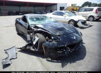 [SAVE THE STINGRAYS] Black C7 Corvette on Forgelines Is Latest Crash Victim