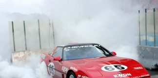 [VIDEO] The Burnout Contest at the 2014 Corvettes at Carlisle