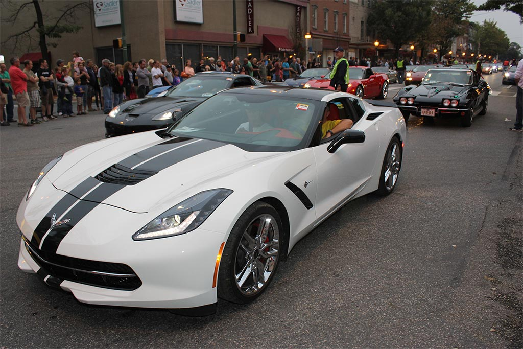 [VIDEO] The 2014 Corvettes at Carlisle Downtown Parade