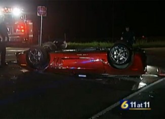 [ACCIDENT] C6 Corvette Grand Sport Flips After Crash in Pennsylvania