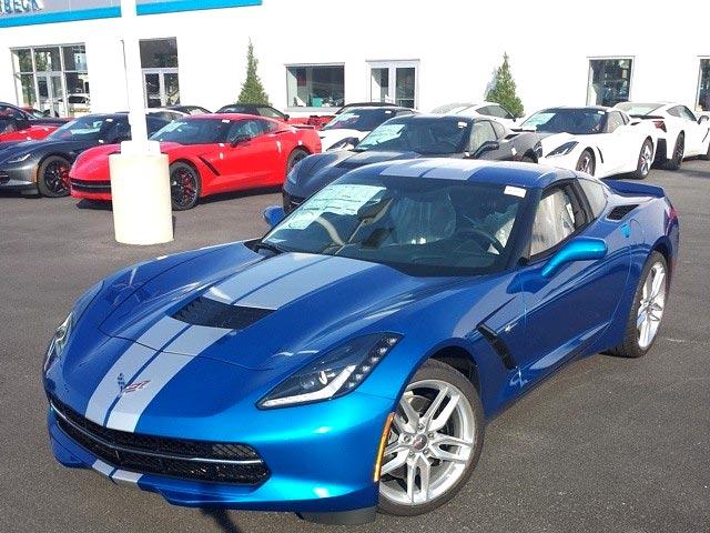 August 2014 Corvette Sales