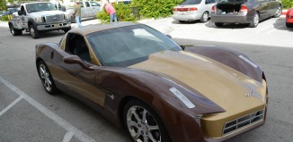Transformers Customized 2006 Corvette a No Sale on eBay